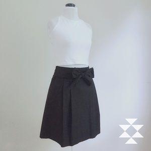 J. Crew Classic Black Midi Skirt Sz 6